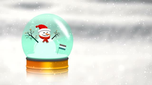 Dutch Snow Globe