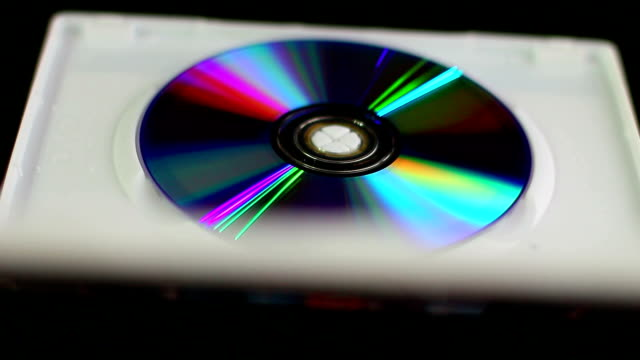 dvd-box - disk stock videos and b-roll footage