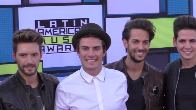 Dvicio at the 2016 Latin American Music Awards at Dolby Theatre in Hollywood at 2016 Latin American Music Awards on October 06 2016 in Hollywood...