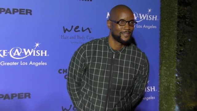 Dwayne Adway at the PAPER Magazine Runway Benefit For MakeAWish Foundation on October 24 2017 in Los Angeles California