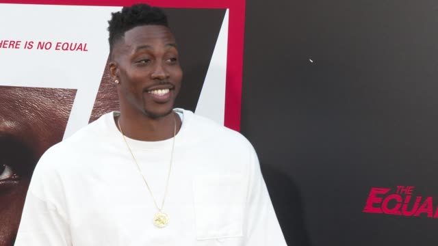 Dwight Howard at the 'The Equalizer 2' Premiere at TCL Chinese Theatre on July 17 2018 in Hollywood California