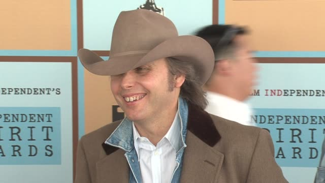 dwight yoakam and guest at the the 21st annual ifp independent spirit awards in santa monica california on march 4 2006 - ifp independent spirit awards stock videos and b-roll footage