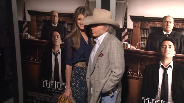 dwight yoakam at the judge los angeles premiere at ampas samuel goldwyn theater on october 01 2014 in beverly hills california - samuel goldwyn theater stock videos & royalty-free footage