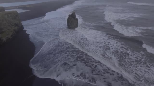 dyholaey iceland - dyrholaey stock videos & royalty-free footage