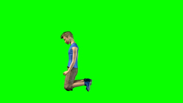 Dying Kid Green Screen