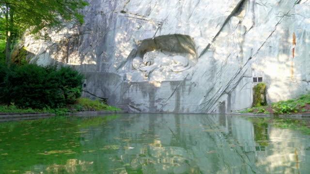 sterbende Löwendenkmal in Luzern Wahrzeichen