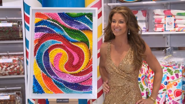 CHYRON Dylan Lauren Celebrates Sweet 16 Of Dylan's Candy Bar at Dylan's Candy Bar on October 17 2017 in New York City