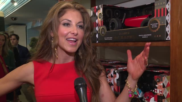 interview dylan lauren on having dylan's candy at fao her memories of fao scharz store at katie holmes unveils fao schwarz holiday collection and the... - bergdorf goodman stock videos and b-roll footage