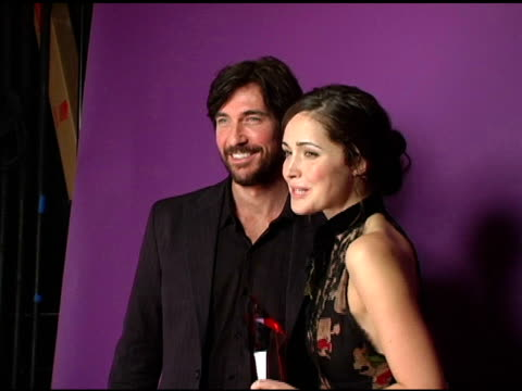 dylan mcdermott and rose byrne at the hollywood life's 4th annual breakthrough of the year awards portrait studio at the music box theatre in los... - rose byrne stock videos and b-roll footage