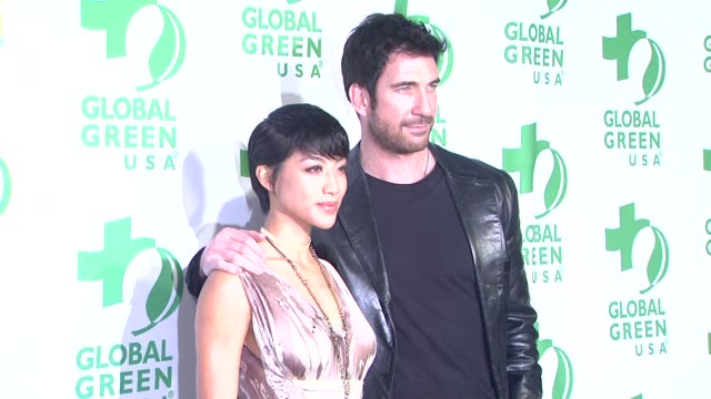 vídeos de stock e filmes b-roll de dylan mcdermott at global green usa's 10th annual preoscar party on 2/20/13 in los angeles ca - festa do óscar