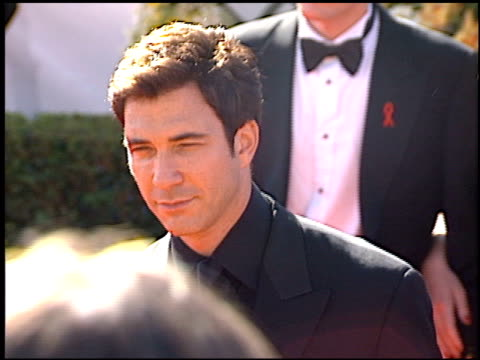 dylan mcdermott at the 2000 emmy awards at the shrine auditorium in los angeles, california on september 10, 2000. - shrine auditorium video stock e b–roll