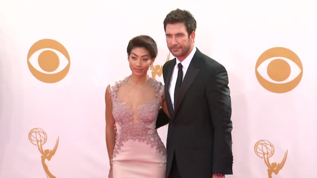 dylan mcdermott at the 65th annual primetime emmy awards arrivals in los angeles ca on 9/22/13 - annual primetime emmy awards stock-videos und b-roll-filmmaterial