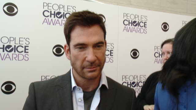 INTERVIEW Dylan McDermott on his nomination what appealed to him about his new show the fact that he and Allison Janney went to acting school...