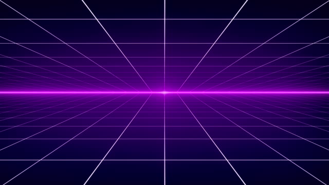dynamic retro background - 4k resolution - loopable - neon stock videos & royalty-free footage