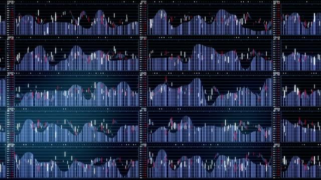 Dynamic Stock Graph - top view