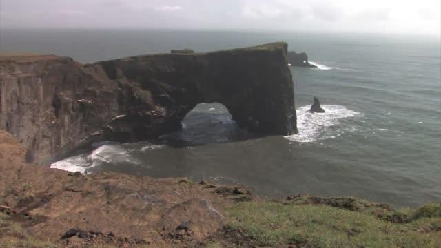 dyrholaey peninsula. - dyrholaey stock videos & royalty-free footage