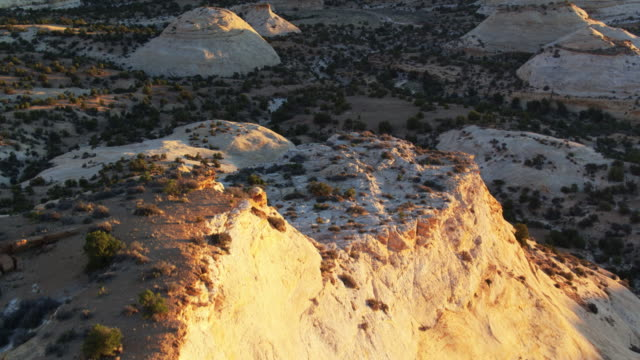 eagle canyon in the san rafael swell - drone shot - san rafael swell stock videos and b-roll footage