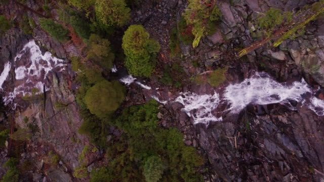 eagle falls, lake tahoe - aerial view - californian sierra nevada stock videos & royalty-free footage