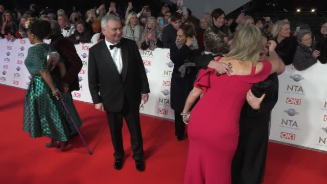 stockvideo's en b-roll-footage met eamonn holmes ruth langsford at the o2 arena on january 28 2020 in london england - eamonn holmes
