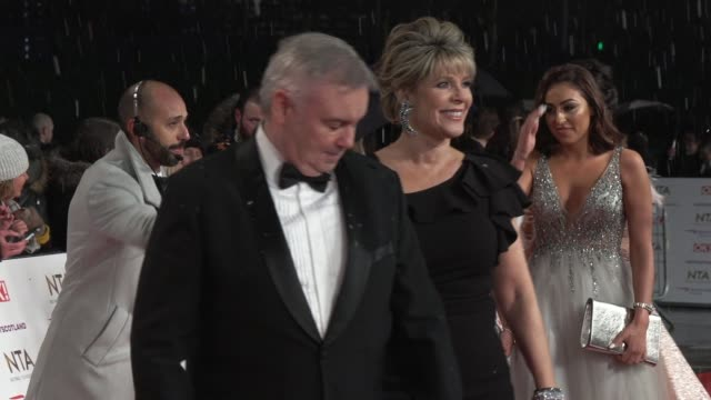 stockvideo's en b-roll-footage met eamonn holmes ruth langsford on january 22 2019 in london england - eamonn holmes