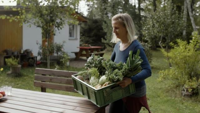 ean eating & healthy living - 50 54 years stock videos & royalty-free footage