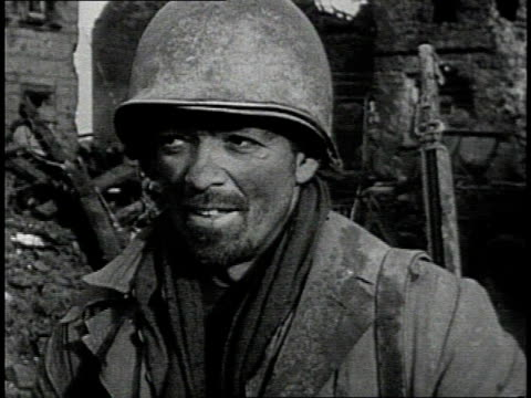 early 1950s montage soldiers' faces / south korea - korean war stock videos & royalty-free footage