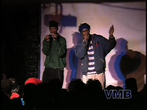 Early footage of WuTang Clan's RZA aka Prince Rakeem and ODB performing at a club in NYC