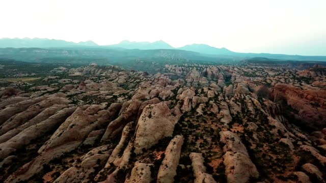 early morning in moab - moab utah stock videos & royalty-free footage