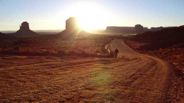 Early morning in monument valley