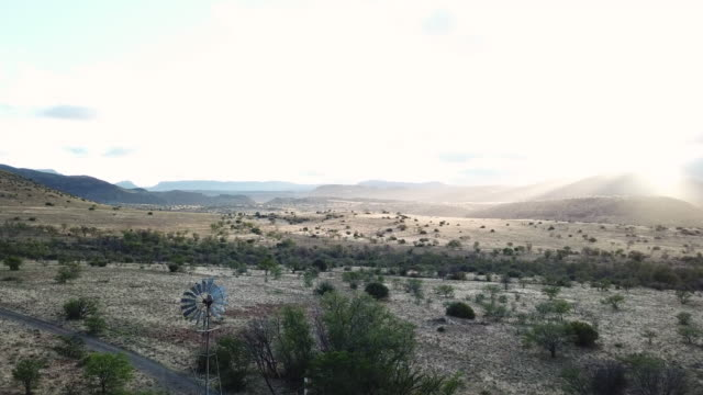 early morning karoo landscape - tramway stock videos and b-roll footage
