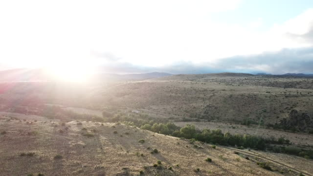 early morning sunrise in the karoo - the karoo stock videos & royalty-free footage