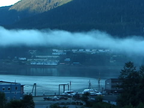 early on a cold winter morning; juno, alaska - juneau stock videos and b-roll footage