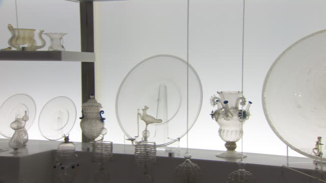 Early Tuscan glassware