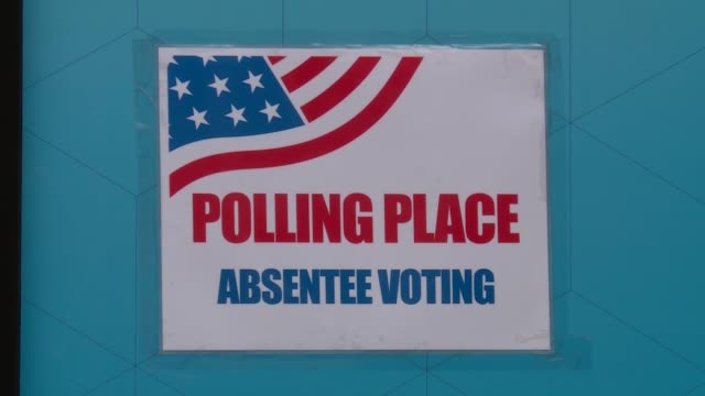 early votes are caste for 2020 us election - arlington virginia stock videos & royalty-free footage