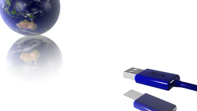 Earth 01 Connect to USB