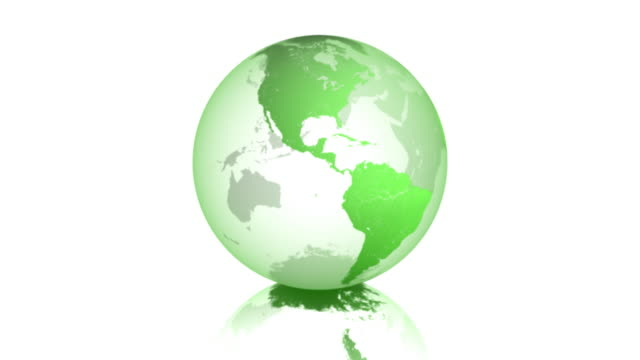 earth 01 green spinning business vectorized - spinning stock videos & royalty-free footage