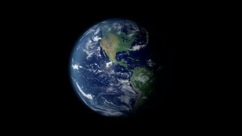 vídeos y material grabado en eventos de stock de earth zoom y rotación de 360 centrado en francia - europa continente
