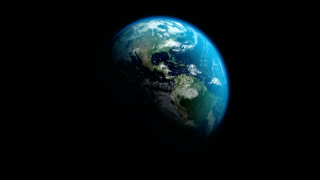earth |  4k - loopable - spinning stock videos & royalty-free footage