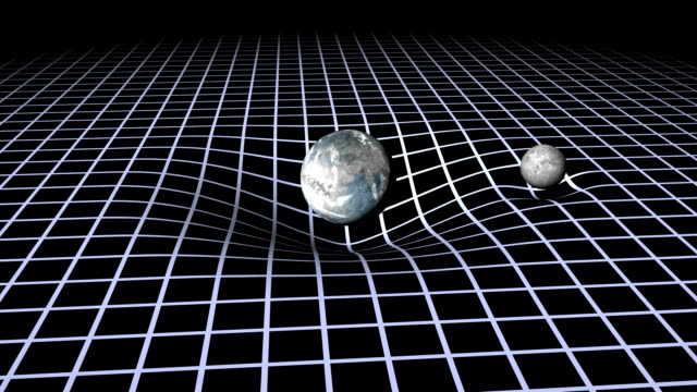 earth and moon gravity wells - physics stock videos & royalty-free footage