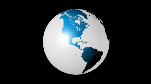 Earth Animation HD Seamless Loop