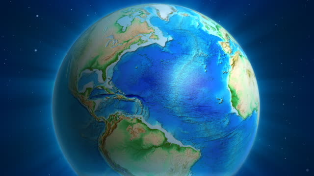 Earth Animation: USA view