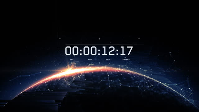 earth countdown - countdown stock videos & royalty-free footage