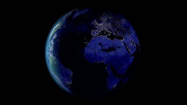 Terre jour et nuit