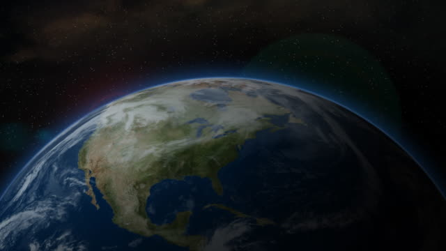 Earth from Space, North America