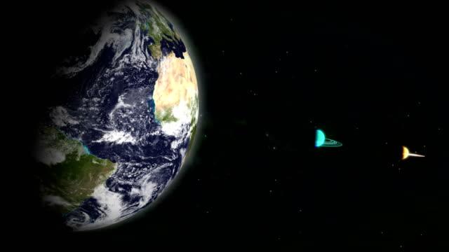 アースからスペース - 宇宙・天文点の映像素材/bロール