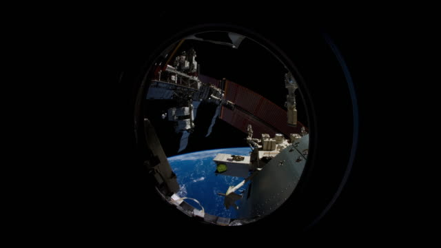 Earth from the JEM Window time lapse