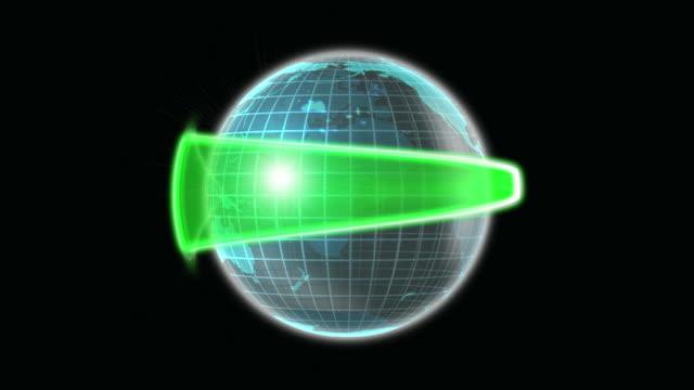 Earth Glass Arrow Green