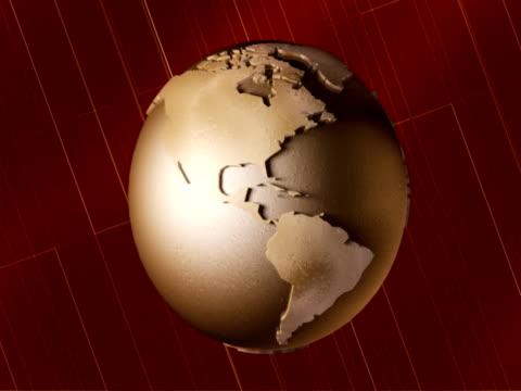 Erde Globus NTSC-version