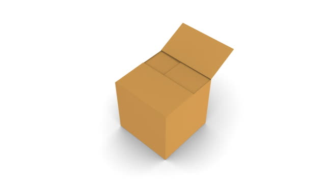 earth in a box - cardboard box stock videos & royalty-free footage
