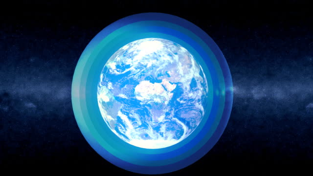 earth layers - athmosphere details - ozone layer stock videos & royalty-free footage
